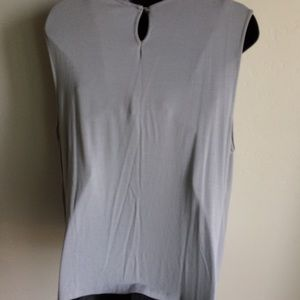 George Tops - George Soft Gray Top Crystal Accent Size XXL 3/$30